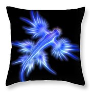 Glaucus Atlanticus 1 Throw Pillow