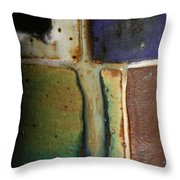 Glaze Painting Throw Pillow