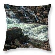 Glen Alpine Falls 9 Throw Pillow