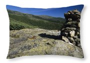 Glen Boulder Trail - White Mountains New Hampshire Usa Throw Pillow