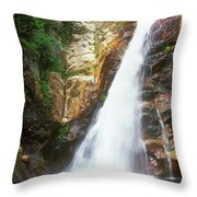 Glen Ellis Falls Throw Pillow
