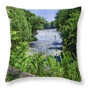 Glen Falls Throw Pillow
