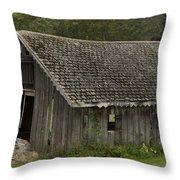 Glen Park Barn Throw Pillow