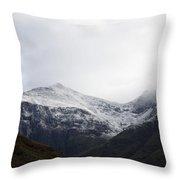 Glencoe Shrouded In Mist Throw Pillow
