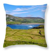 Glencolmcille County Donegal Throw Pillow