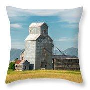 Glengarry Grain Elevator Throw Pillow
