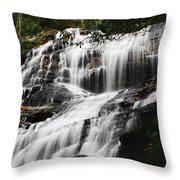 Glenn Falls - Nc Throw Pillow