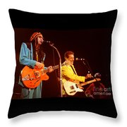 Glenn Frey Joe Walsh-0980 Throw Pillow