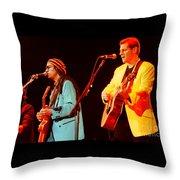 Glenn Frey Joe Walsh-1029 Throw Pillow