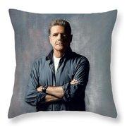 Glenn Frey Throw Pillow