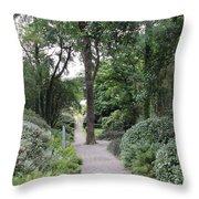 Glenveagh Castle Gardens 4305 Throw Pillow