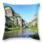 Glenwood Cayon Throw Pillow