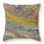 Glide Across The Galaxy 2 Throw Pillow