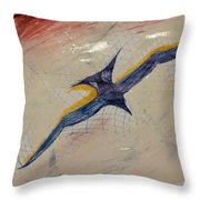 Gliding Throw Pillow
