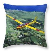 Gliding Over Hana Throw Pillow