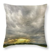 Glimmer Of Hope Throw Pillow