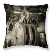 Glimpse Into The Past Throw Pillow