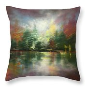 Glimpse Of A Moment Throw Pillow