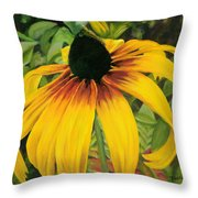 Glimpse Of Beauty Throw Pillow