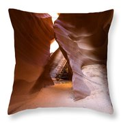 Glimpse Of Grandeur Throw Pillow