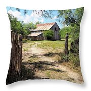 Glimpse Of The Past Throw Pillow