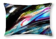 Glimpse Pink Fish Throw Pillow