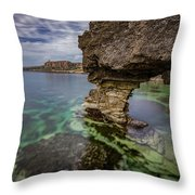 Glimpses Of Sicily Throw Pillow