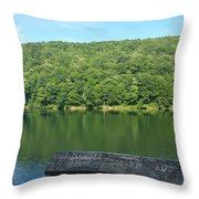 Glistening Water Throw Pillow