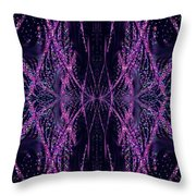 Glitter Explosion Throw Pillow