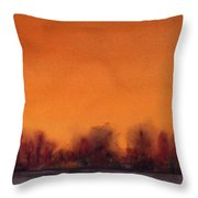 Gloaming Throw Pillow