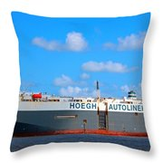 Global Carrier Throw Pillow