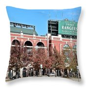 Global Life Park Throw Pillow