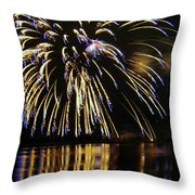 Globalfest Fireworks Throw Pillow
