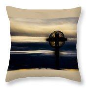 Globe Lamp Throw Pillow