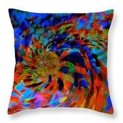 Globe Nebula Throw Pillow