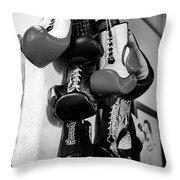 Globes Throw Pillow