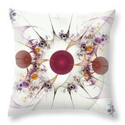 Globes Of Many Throw Pillow