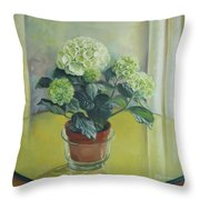 Gloomy Spring Throw Pillow