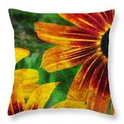 Gloriosa Daisy Throw Pillow