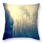 Glorious Morning Light Throw Pillow