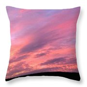 Glorious Nightfall  Throw Pillow