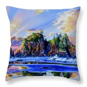 Glorious Point Of The Arches Throw Pillow