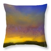 Glorious Skies Throw Pillow