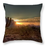 Glorious Sunrise Throw Pillow