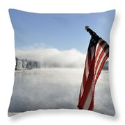 Glorious Winter Day Throw Pillow