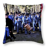 Glory Bound Throw Pillow by David Lee Thompson
