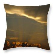 Glory Cloud Throw Pillow