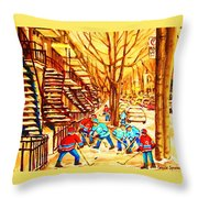 Glory Days Throw Pillow