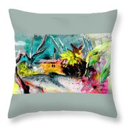 Glory Of Nature Throw Pillow