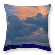 Glory Of Sunset Throw Pillow
